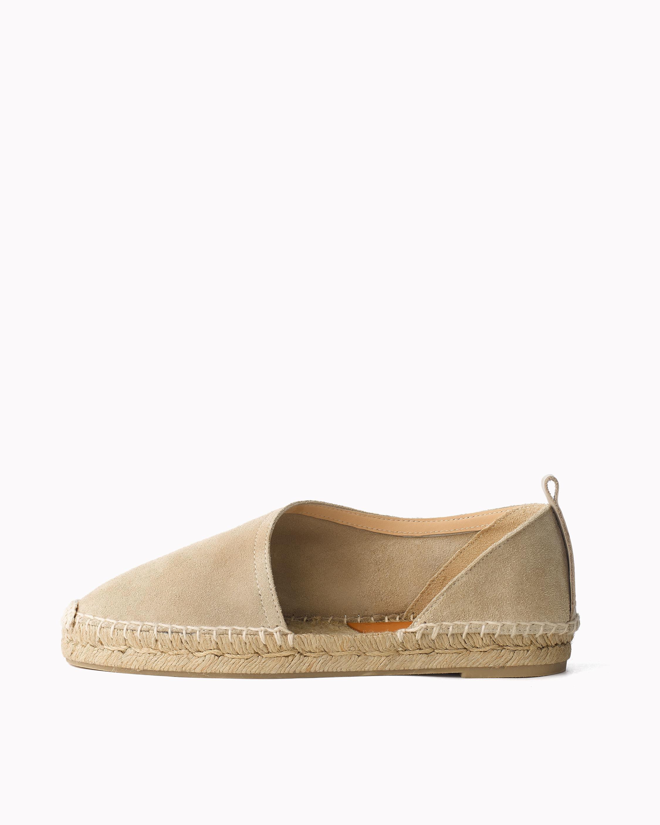 Rag & Bone Woman Suede Platform Espadrille Sandals Sand Size 41 Rag & Bone nWtUD54