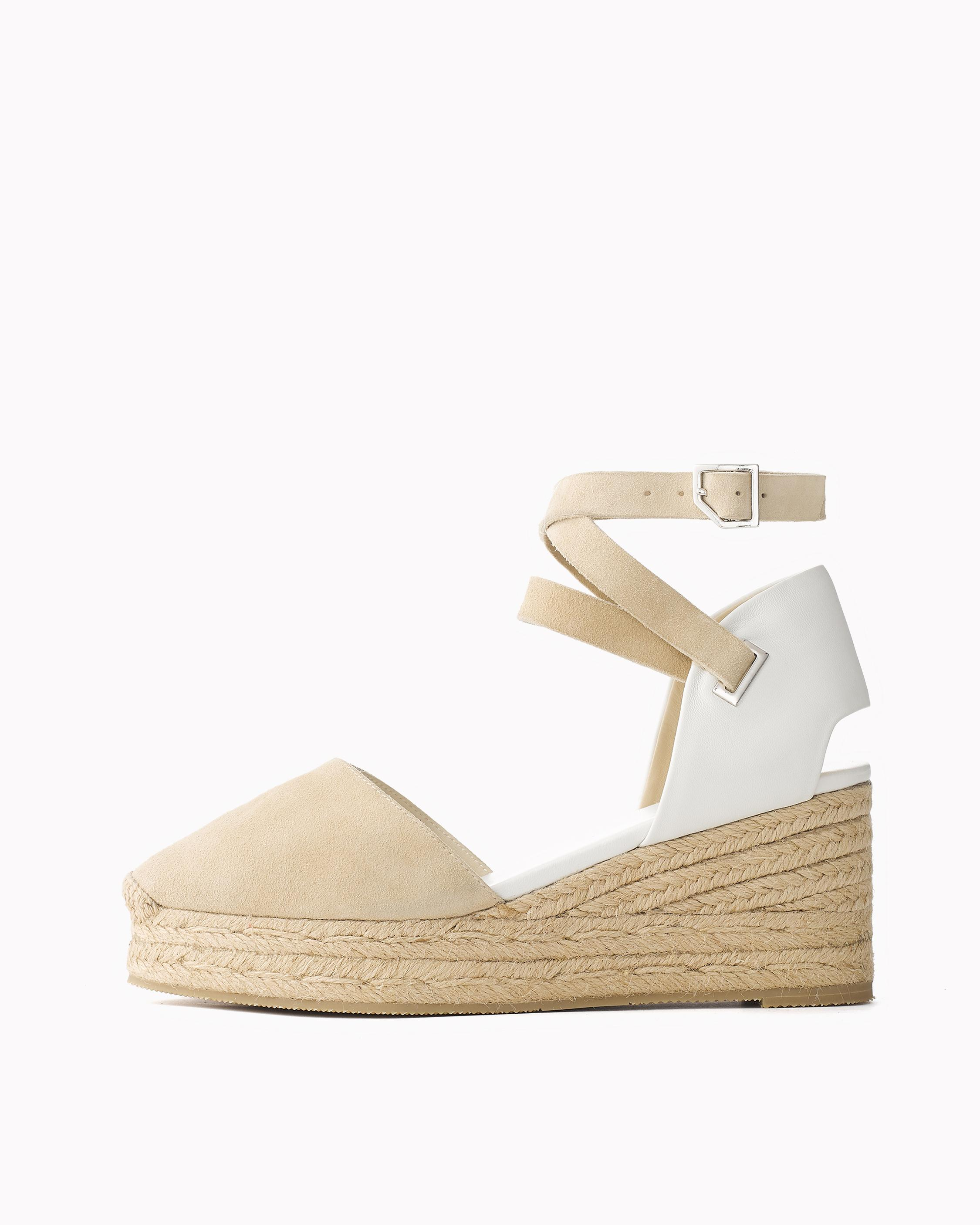 Rag & Bone Woman Suede Platform Espadrille Sandals Sand Size 41 Rag & Bone Pre Order Cheap Price Outlet Eastbay ymAIb8Uk