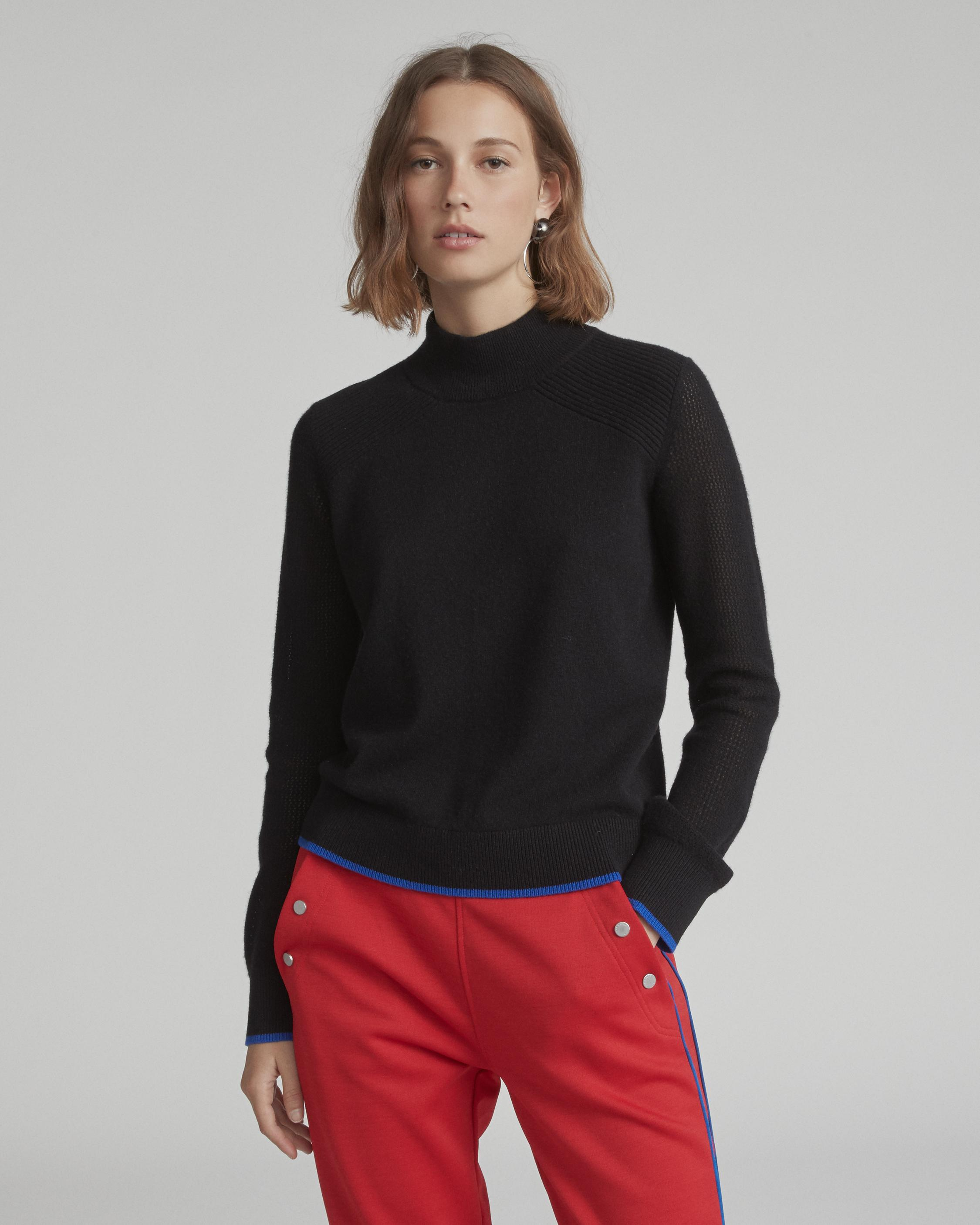 YORKE CASHMERE T-NECK