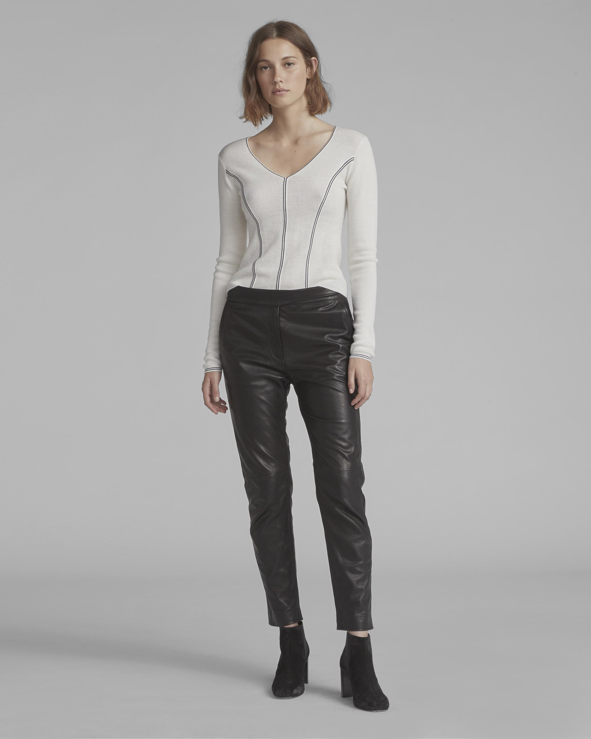 MILA LEATHER PANT