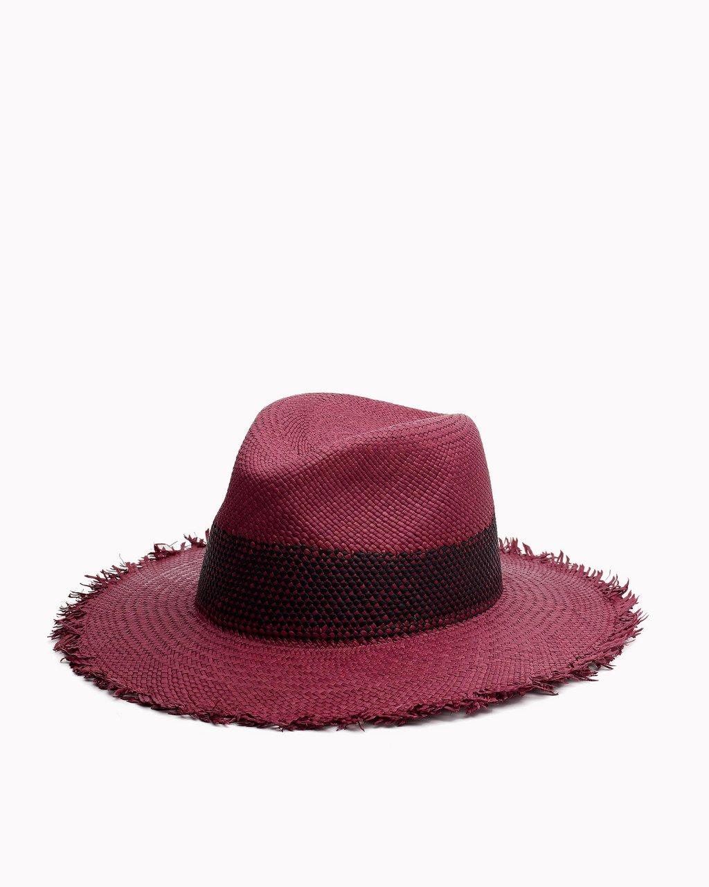 FRAYED EDGE PANAMA HAT