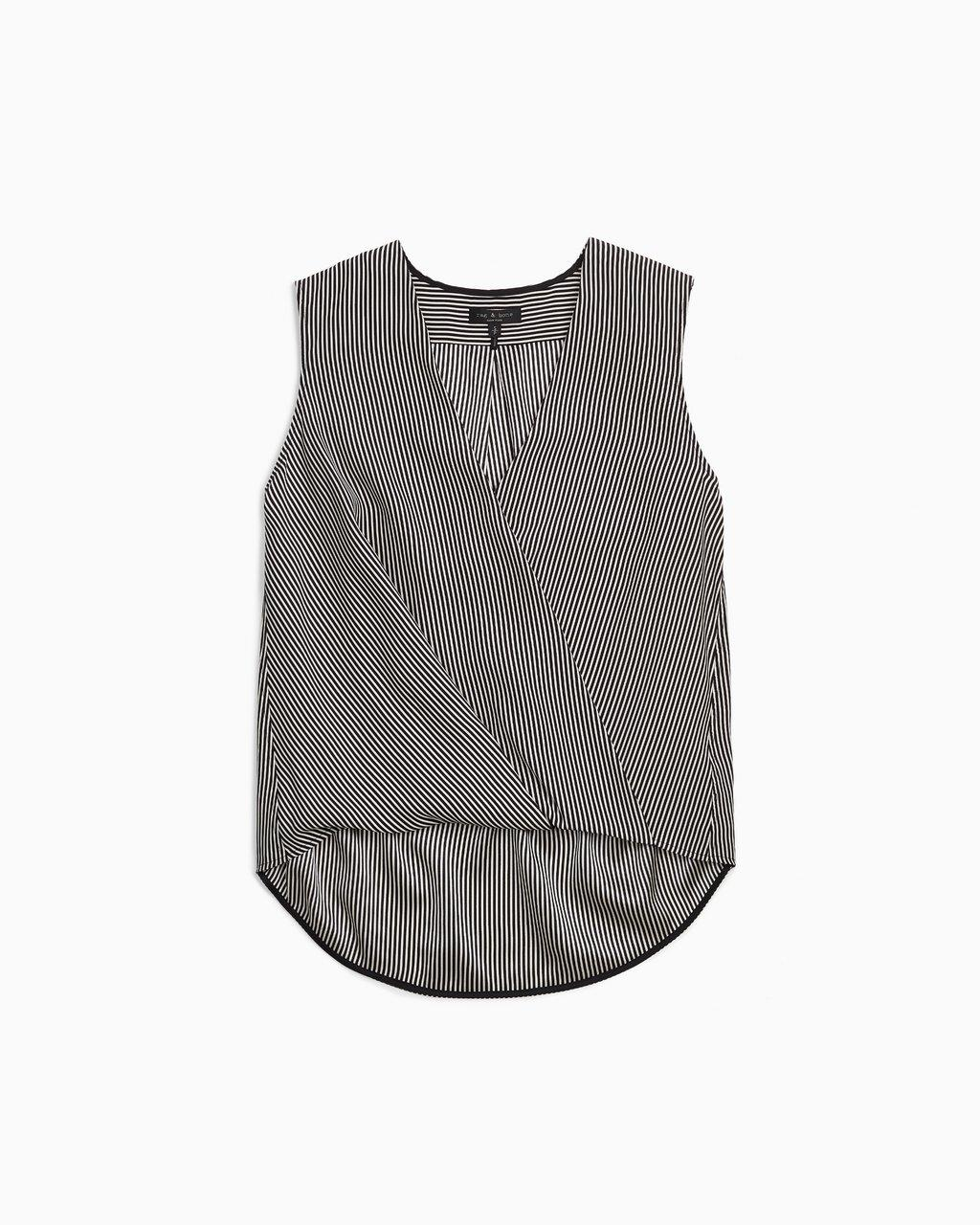 SLEEVELESS VICTOR BLOUSE