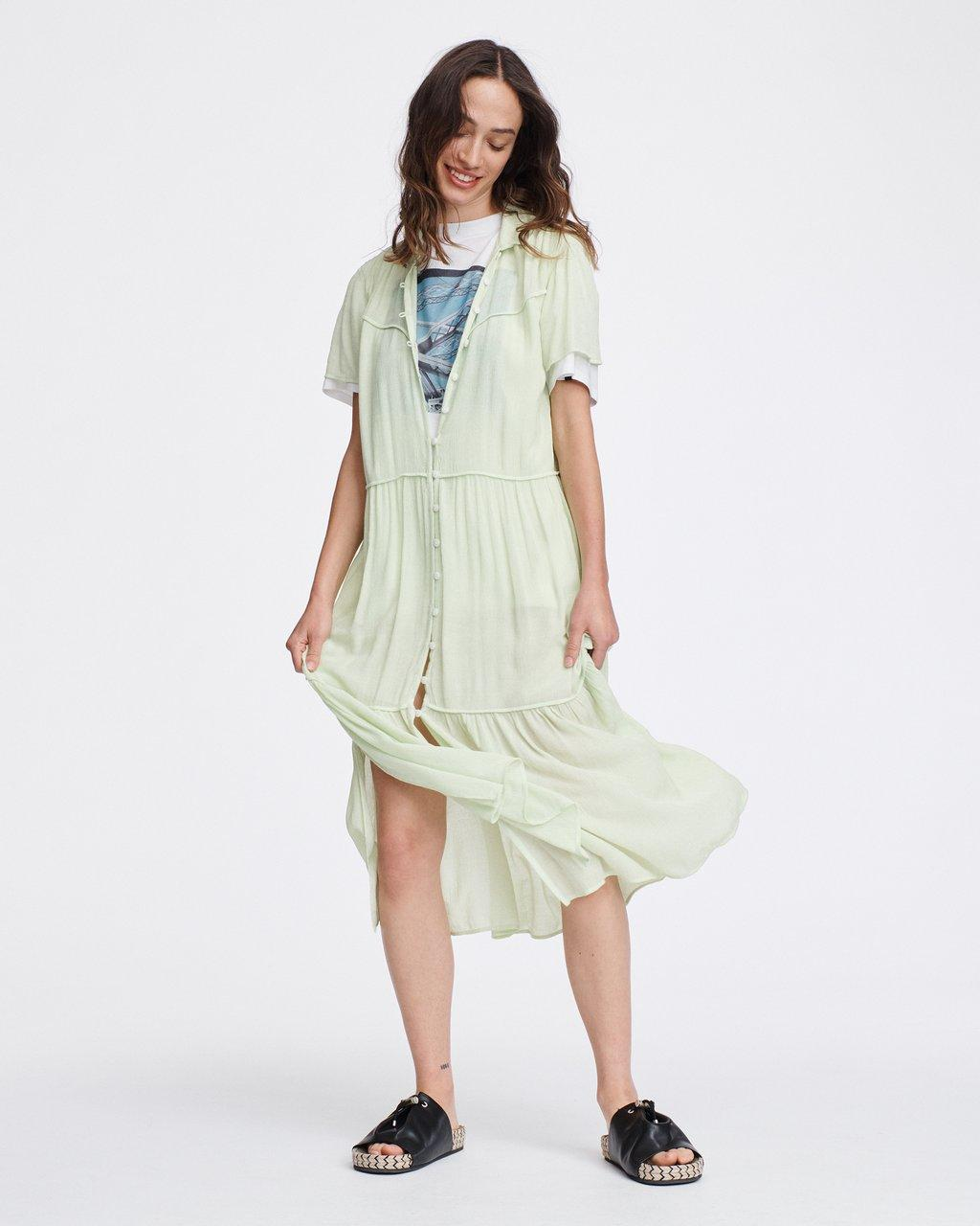 LIBBY Short Sleeve DRESS