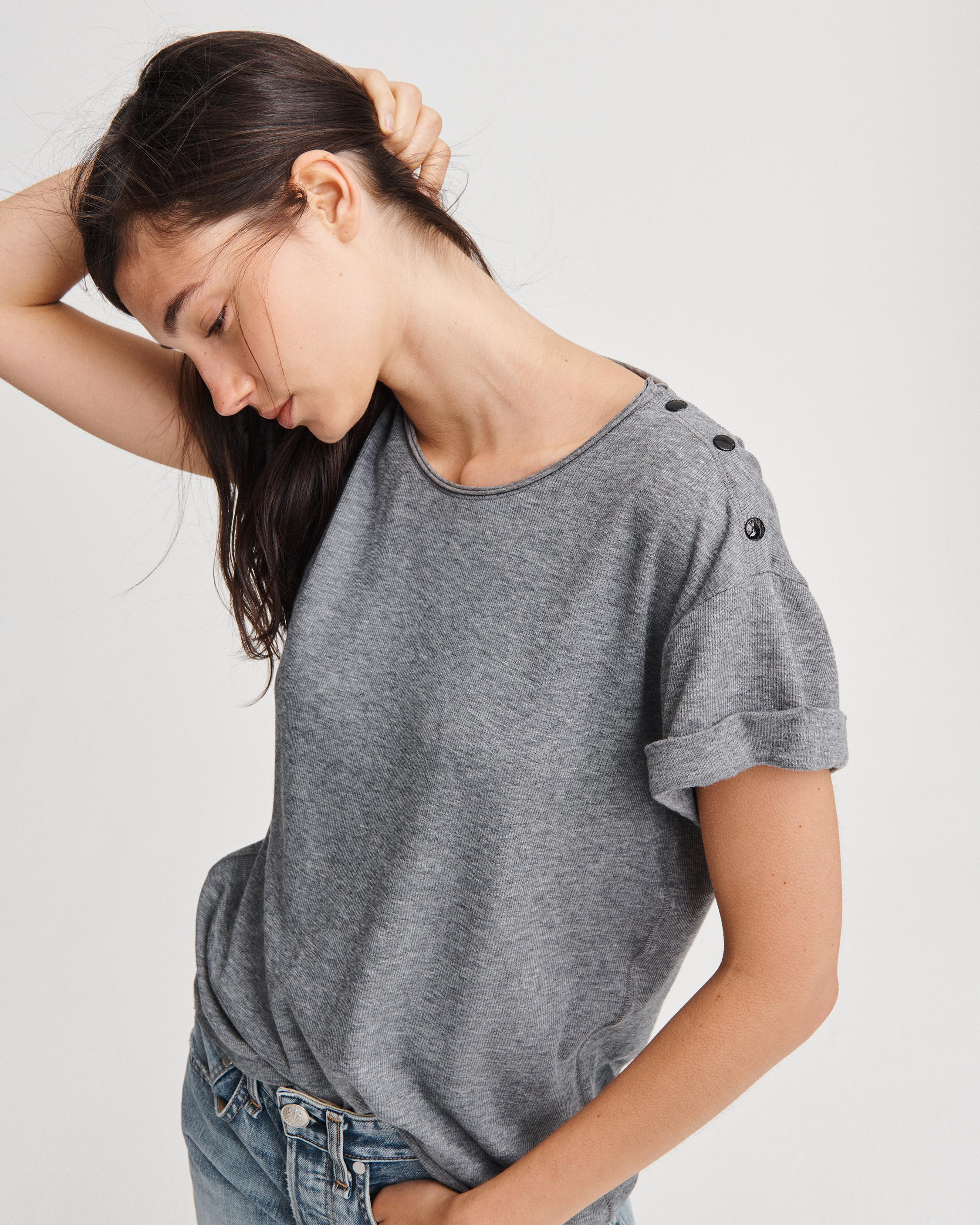 MAC ROLLED SLEEVE TEE