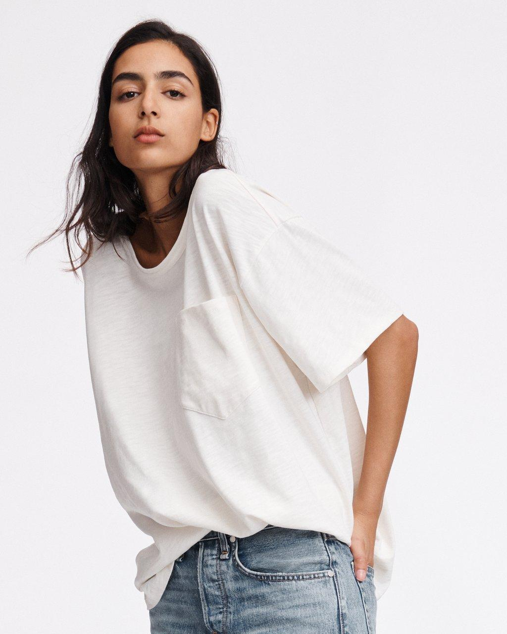 Womens Boxy Oversized Tee Simply Be