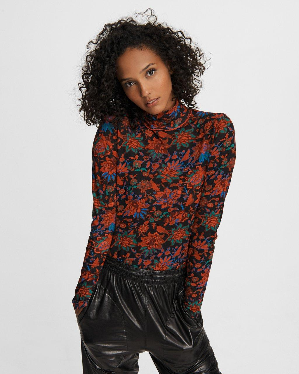 Wallpaper Shaw Cotton Turtleneck