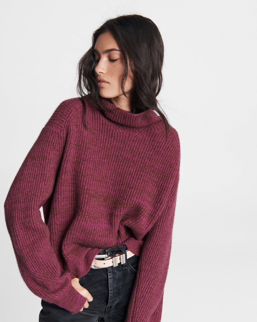 Pierce Cashmere Turtleneck