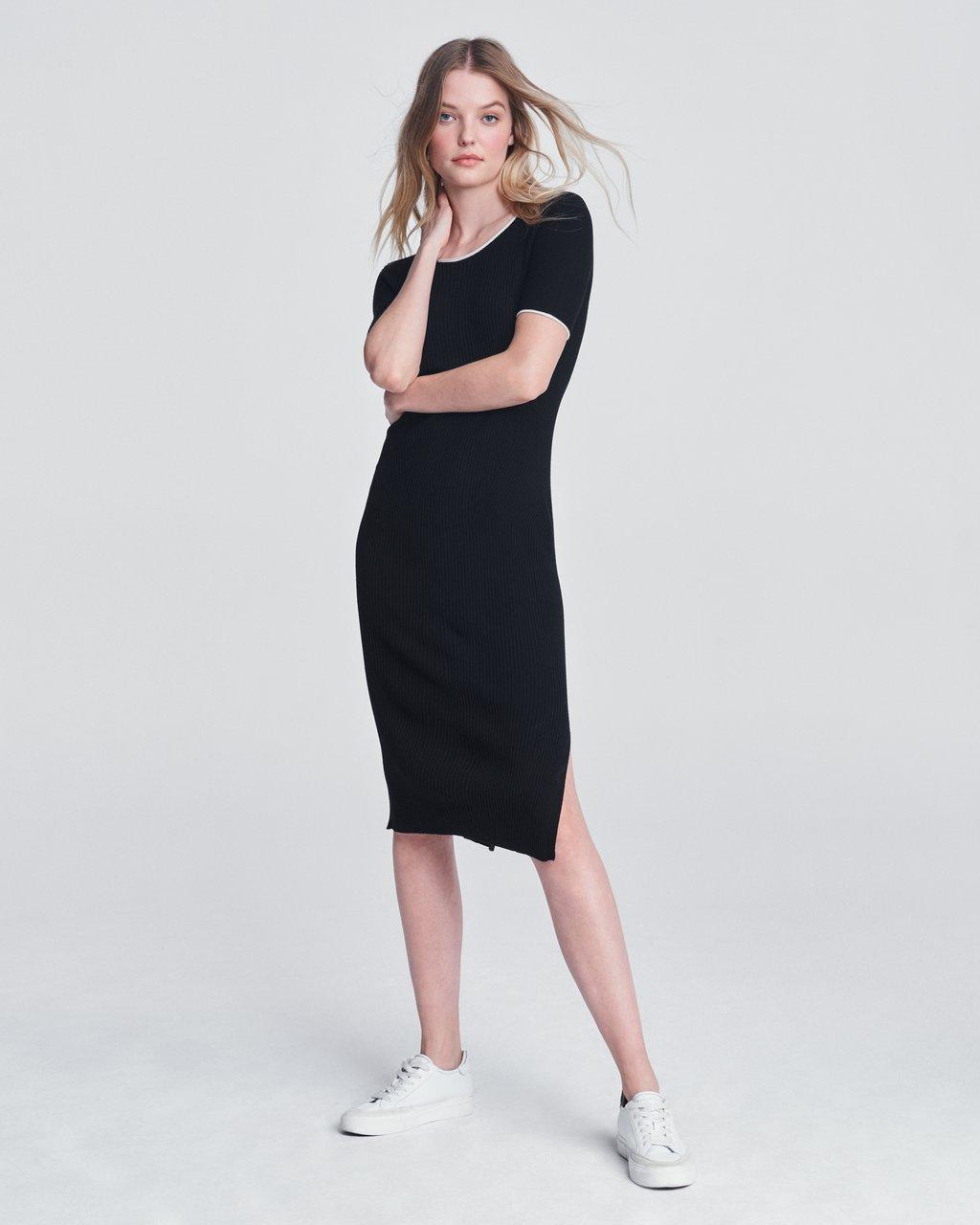 KISHI SEAMLESS SHORT SLEEVE DRESS