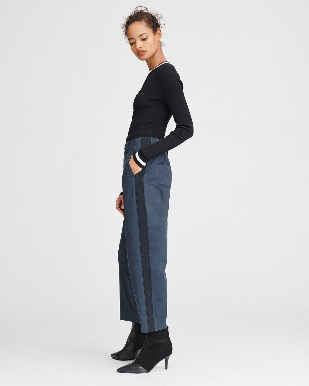 WORKMAN PANT WITH SIDE STRIPE
