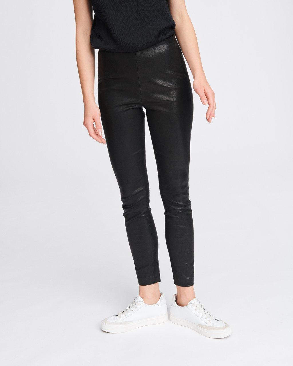 SIMONE LEATHER PANT