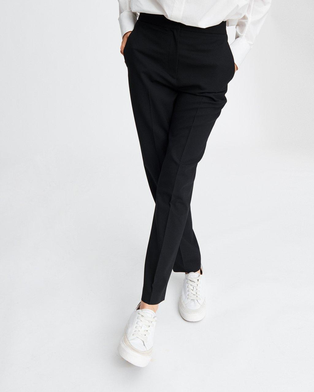 POPPY HIGH WAISTED SOLID PANT