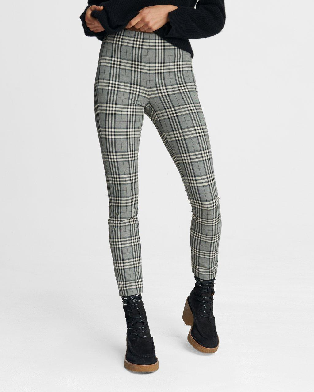 Simone Pant - Check Equestrian Stretch