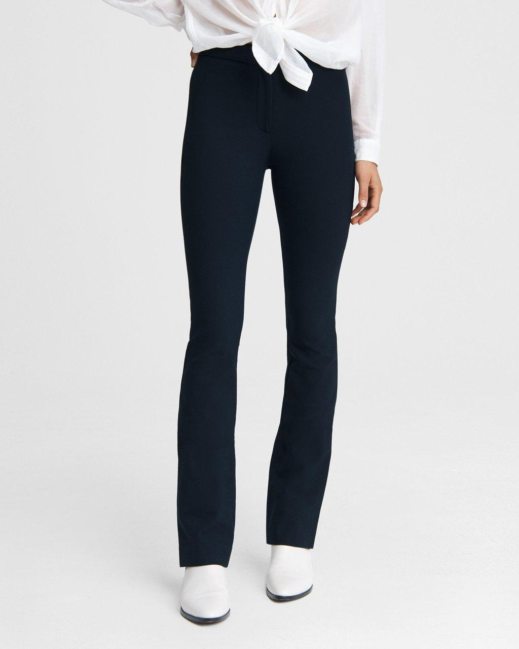 Simone Pant - Flare Cotton Stretch