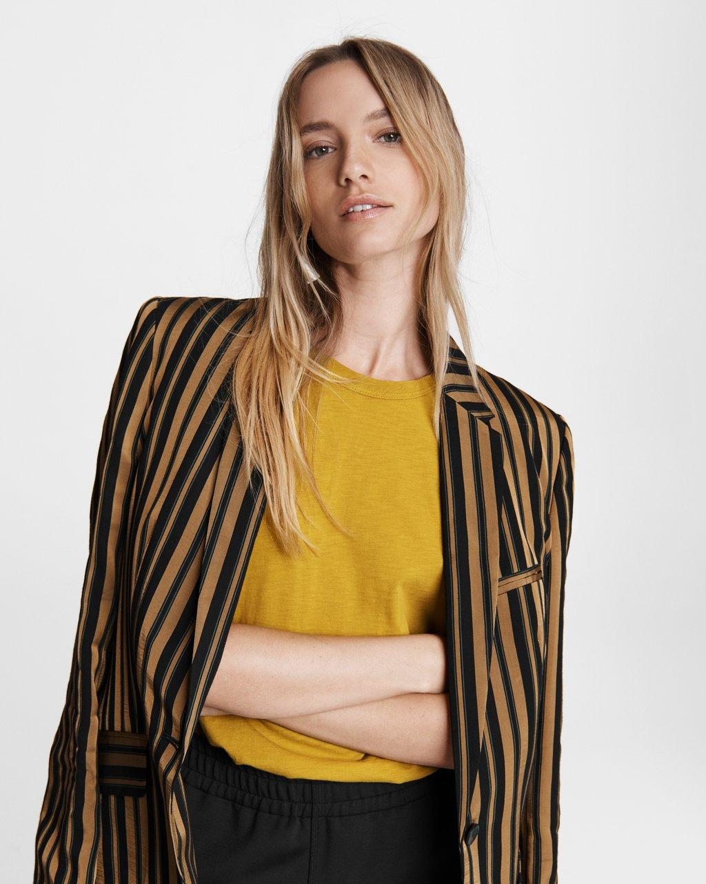 Striped Andre Viscose Blazer