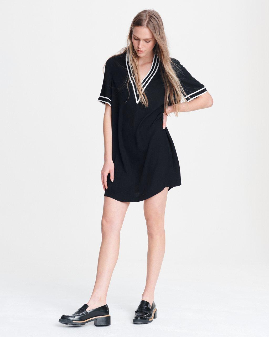 ALTHEA V-NECK DRESS