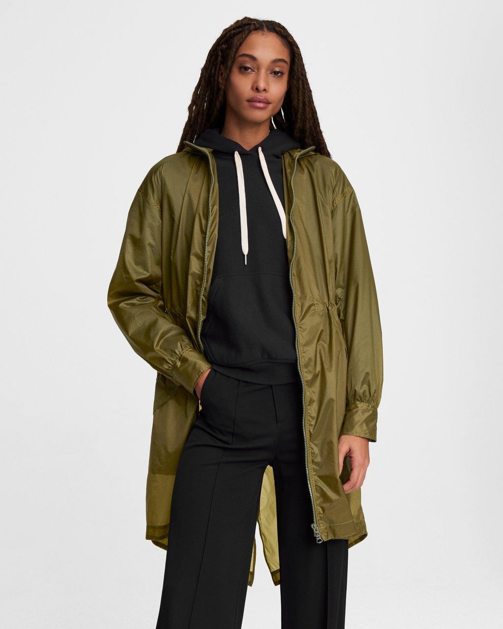 Adison Nylon Raincoat
