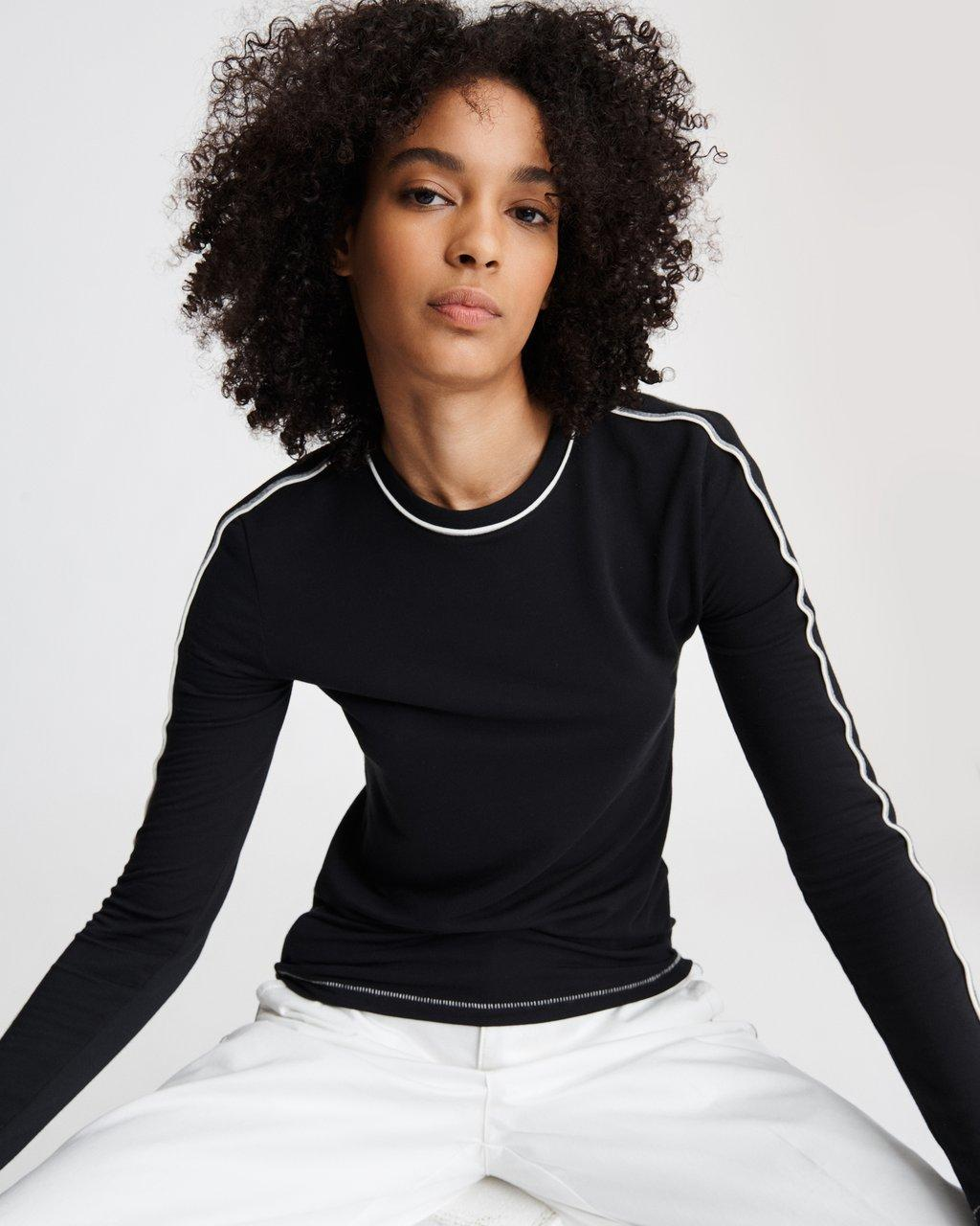 SPORTY SLIM LONG SLEEVE TOP