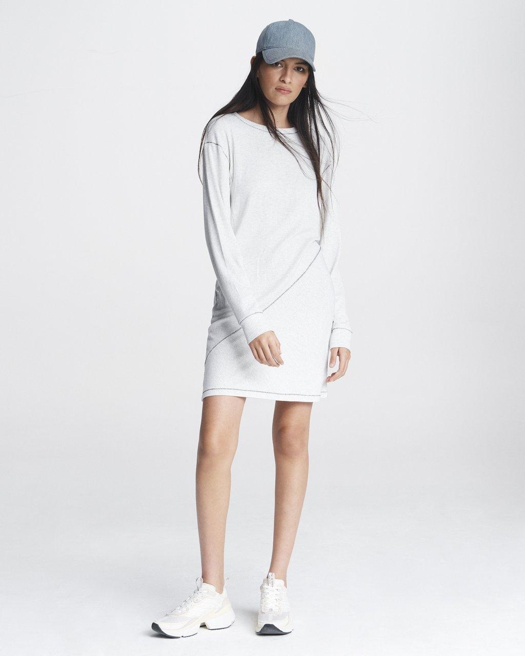 The Knit Ribbed Dress