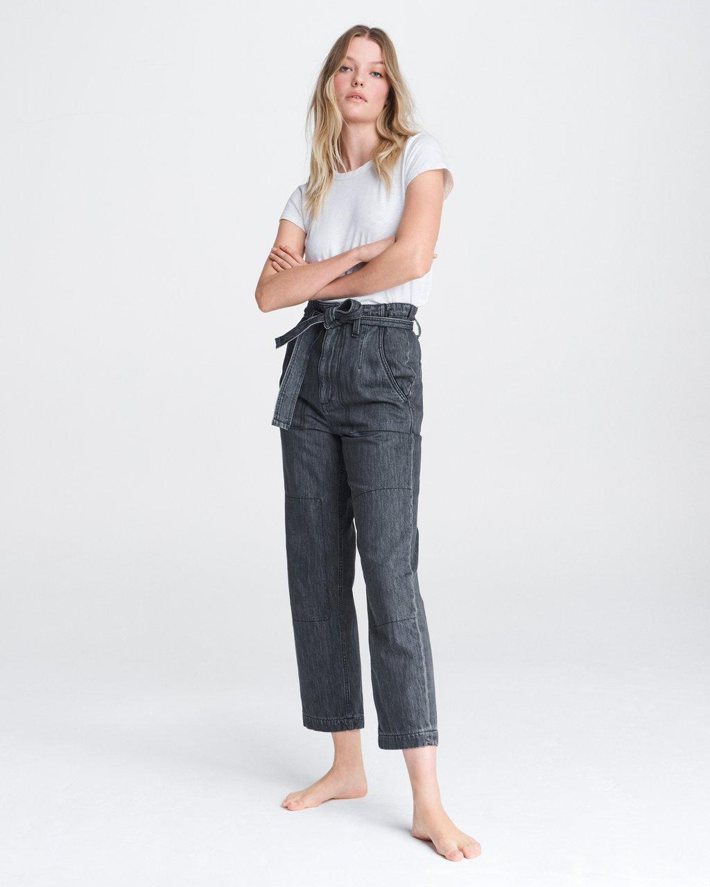 SUPER HIGH RISE DARTED PANT