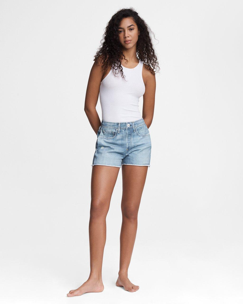 Miramar Cotton Short - Indigo Wash