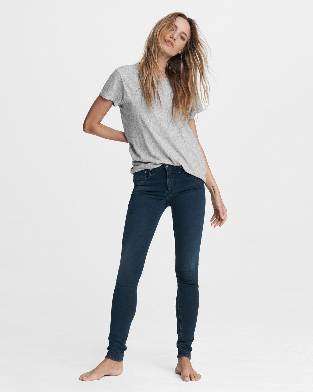 Cate Mid-Rise Skinny - Tiger Lily