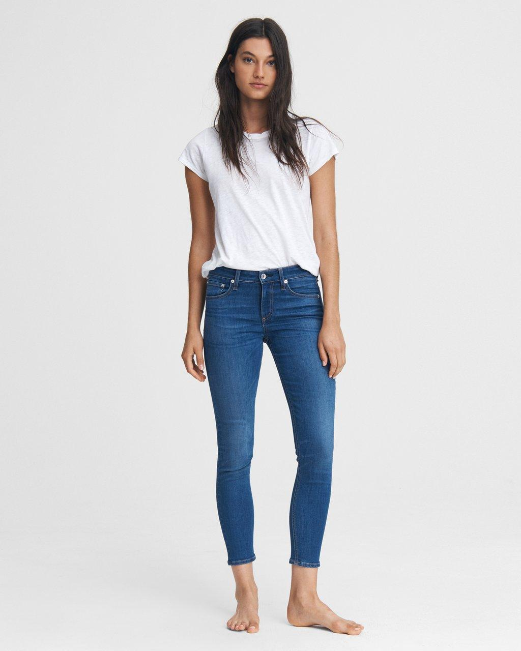 Cate Mid-Rise Skinny - Sand Canyon