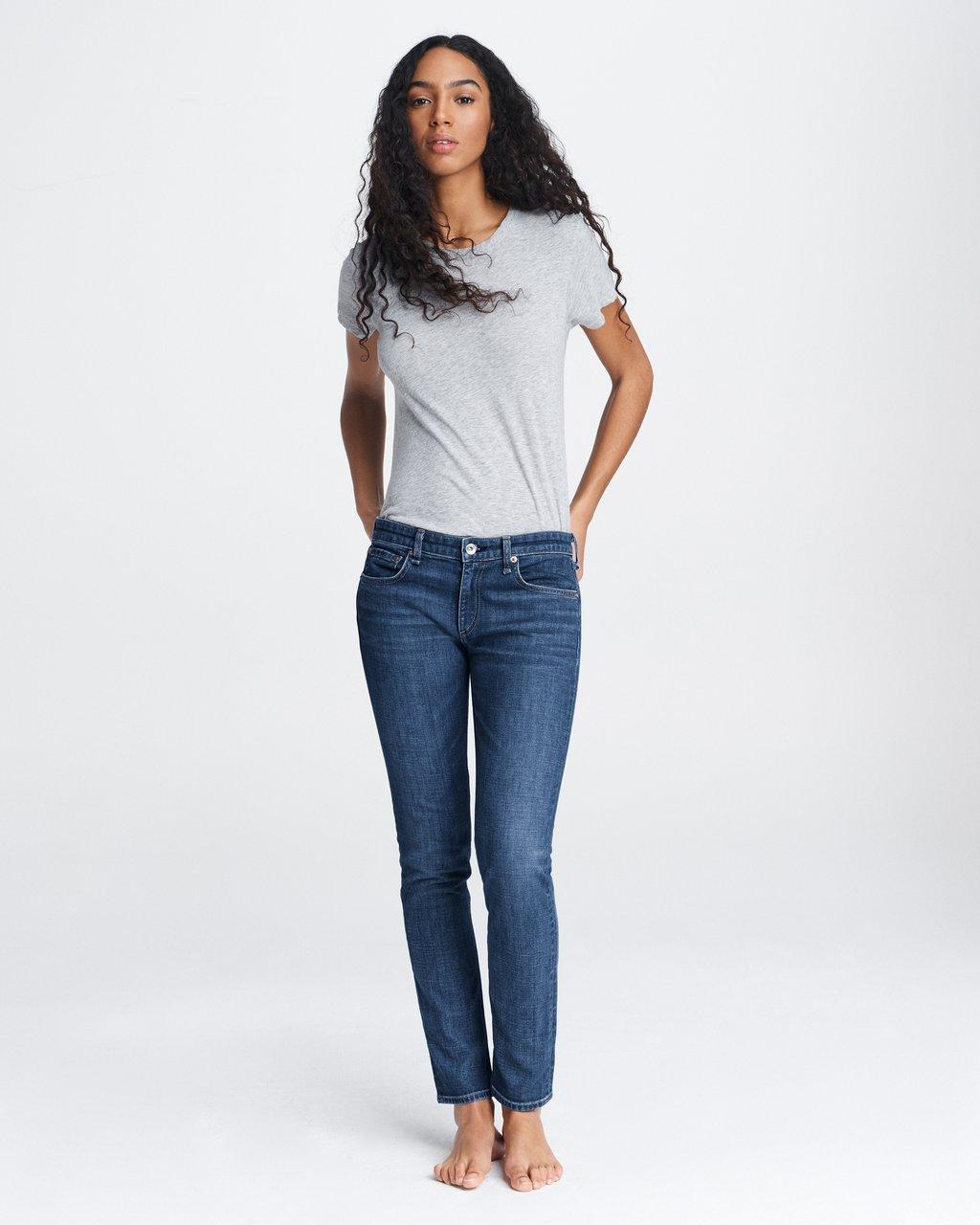 DRE LOW-RISE SLIM BOYFRIEND
