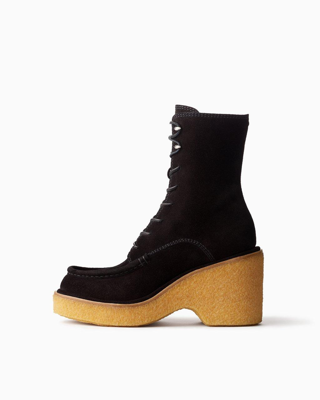 Scout Wedge - Suede