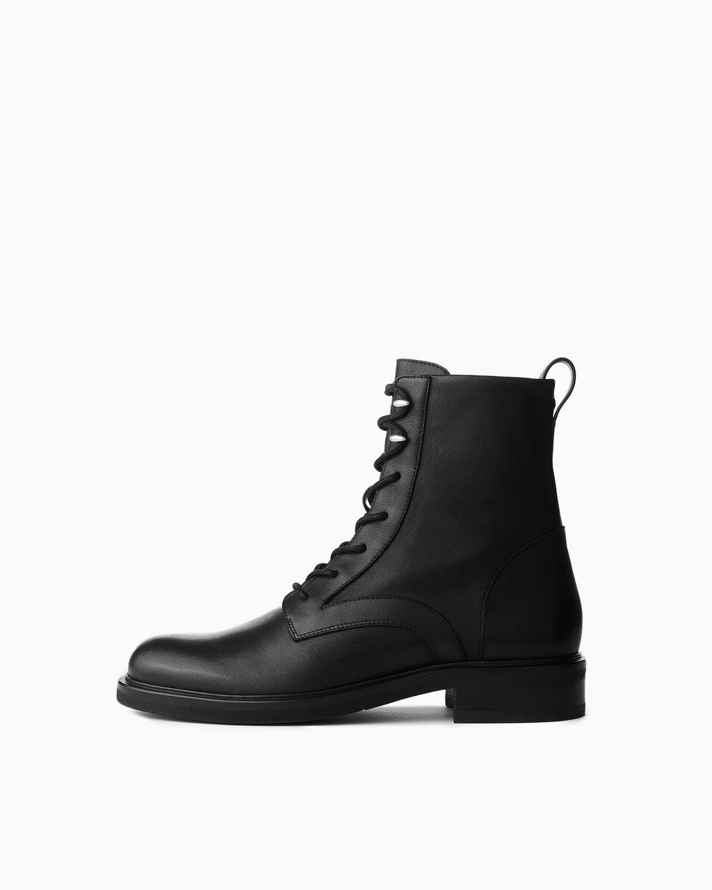 Slayton Lace Up Boot - Tumbled Leather