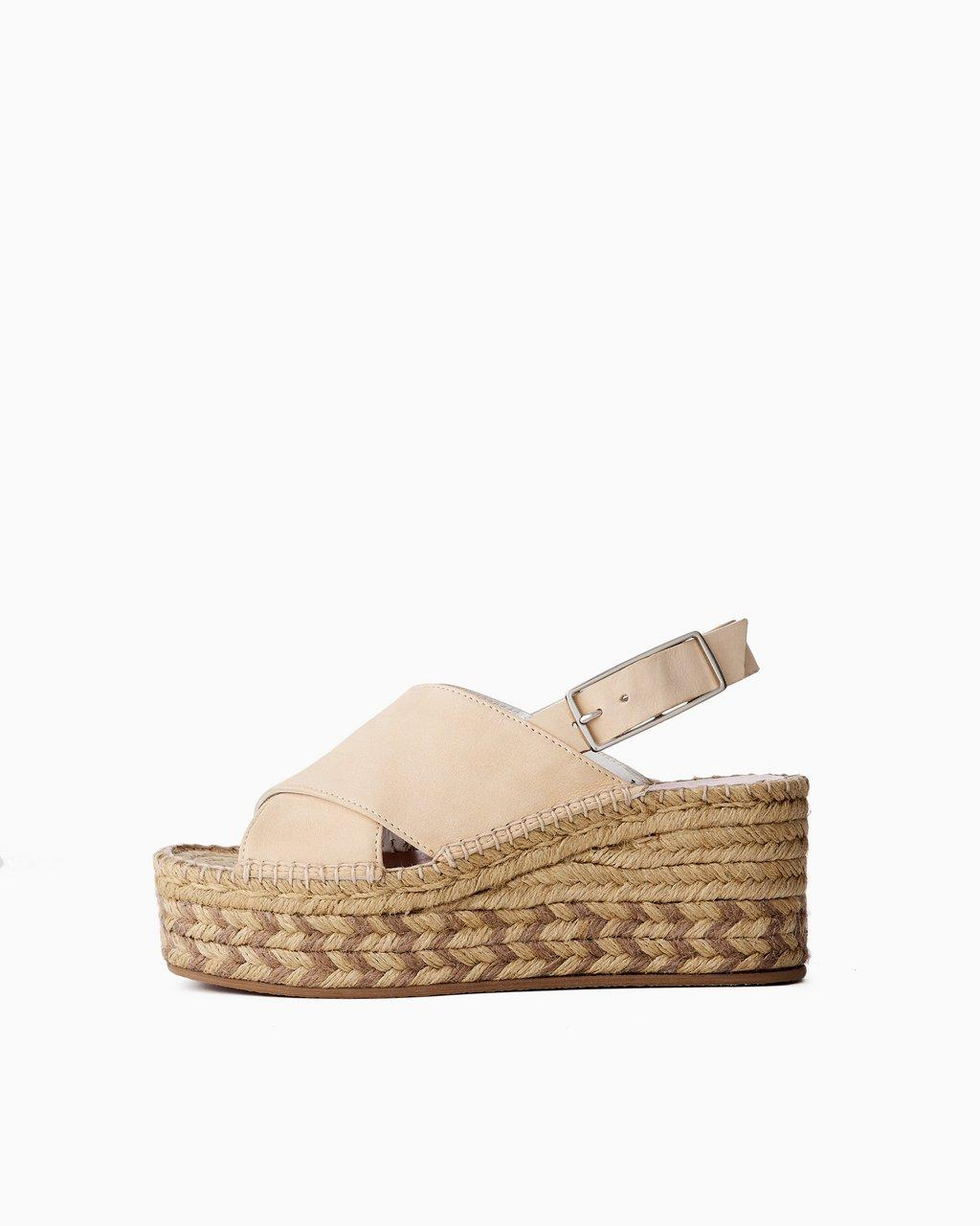 Tari Wedge - Leather