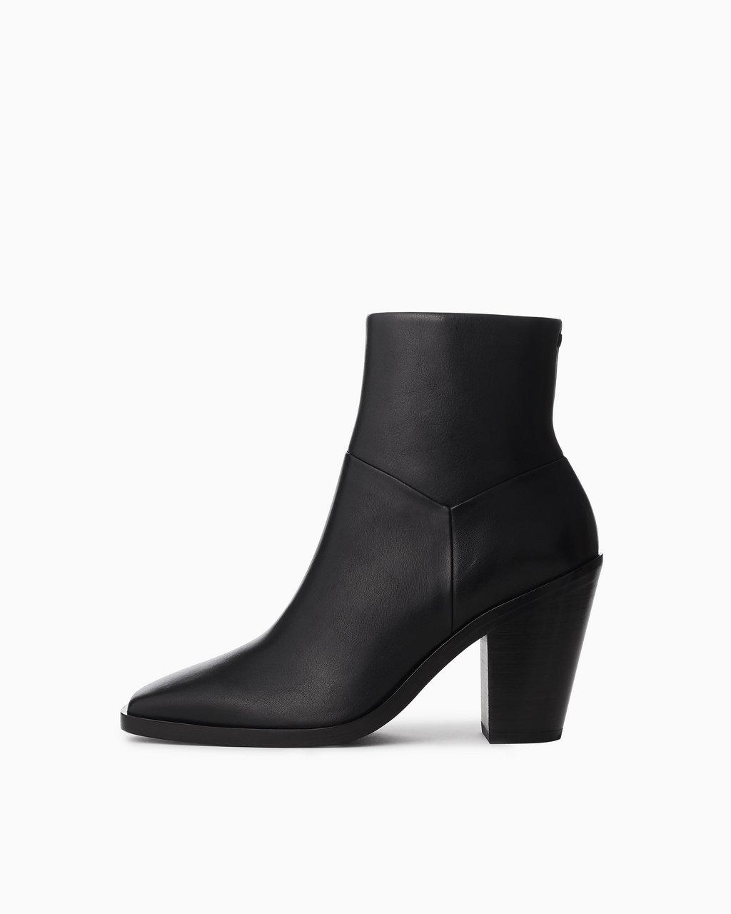 Axel Zip Up Boot - Leather