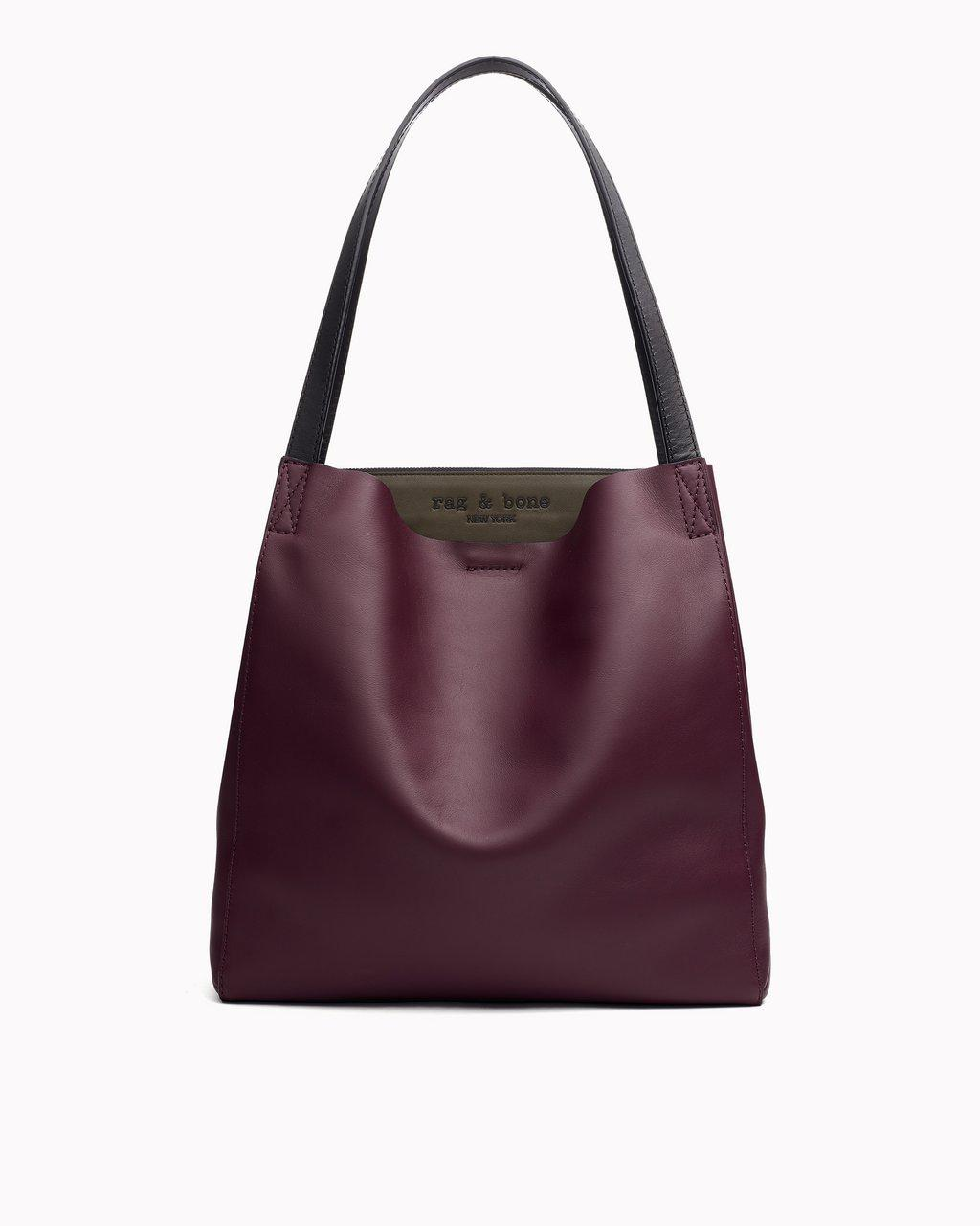 Passenger Tote - Leather