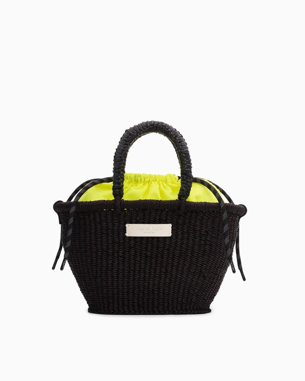 Ghana Woven Tote - Straw