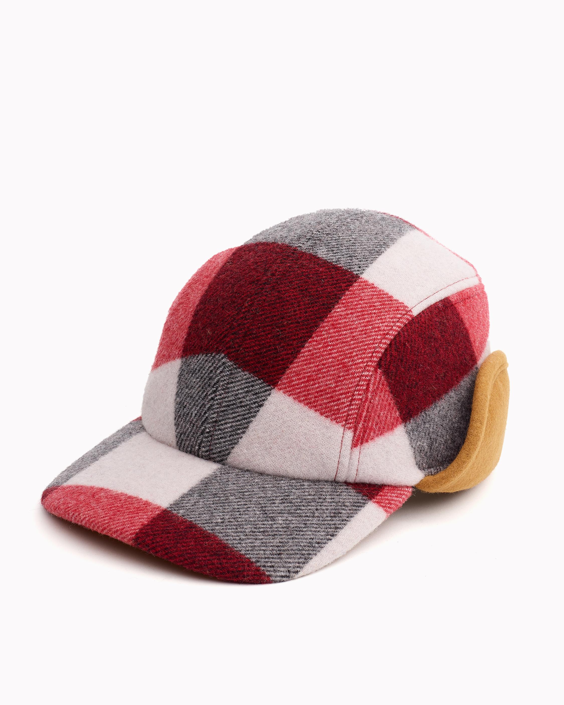 PLAID PILOT CAP