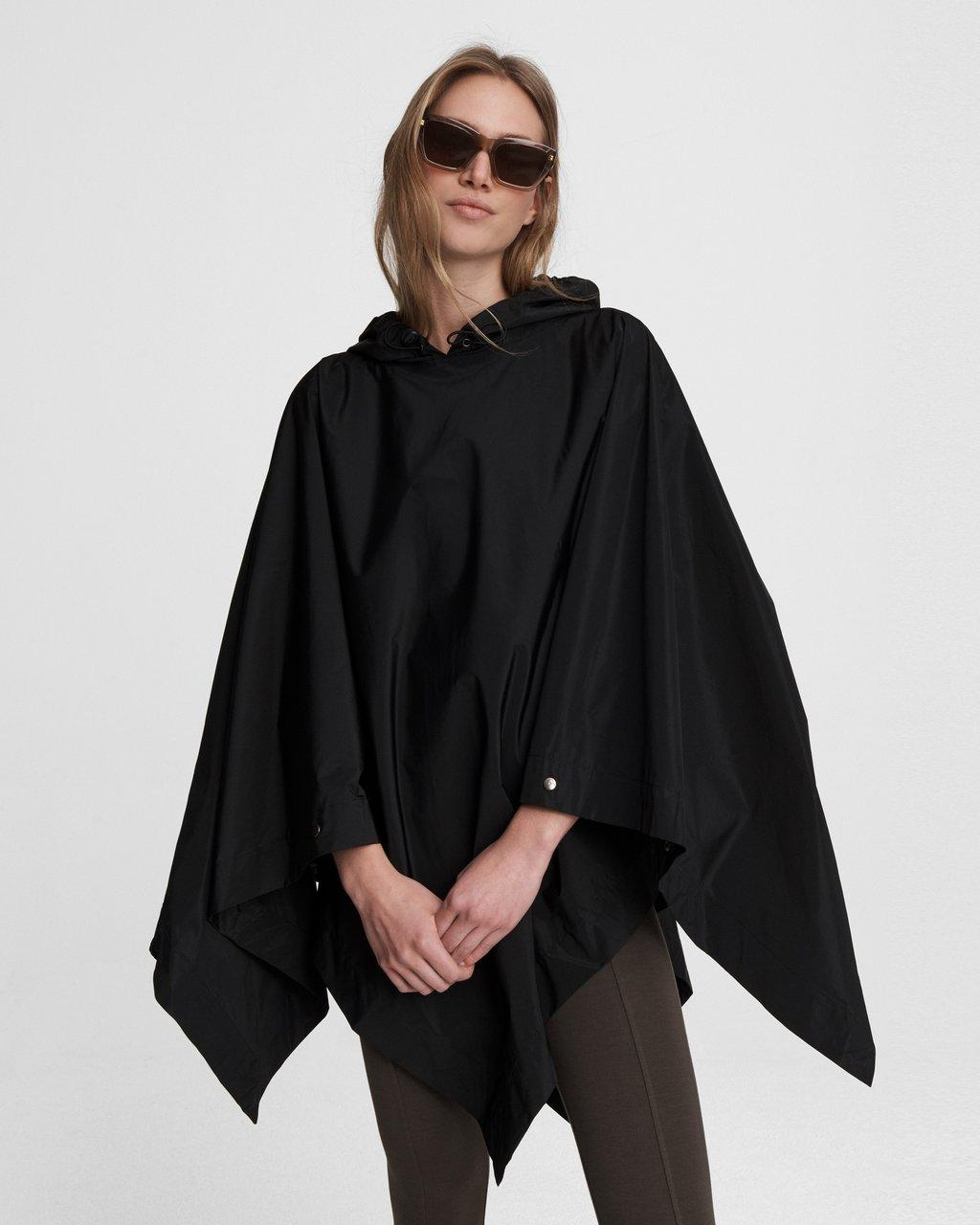 Addison Rain Poncho - Recycled Materials