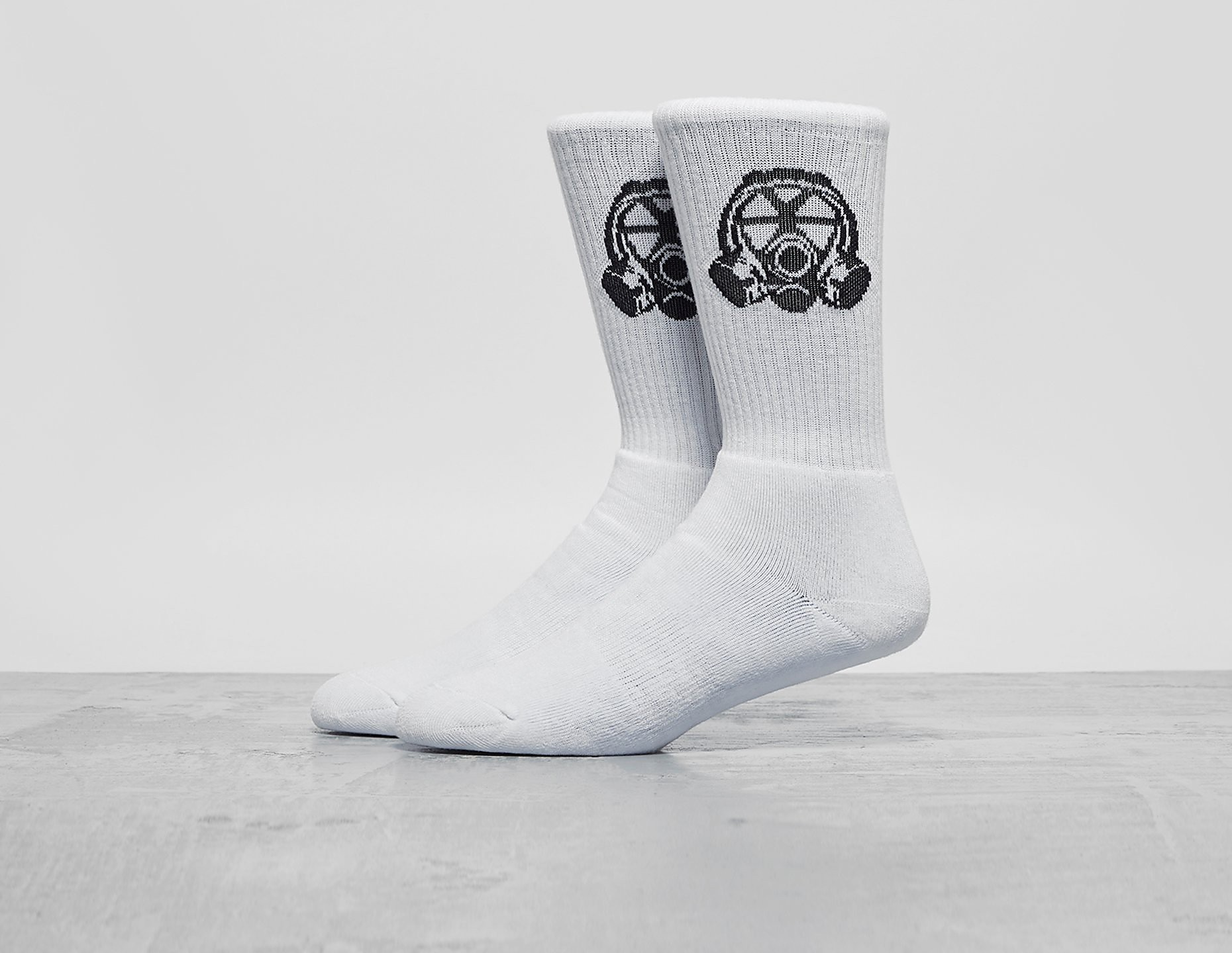 Footpatrol Gas Mask Logo Socks