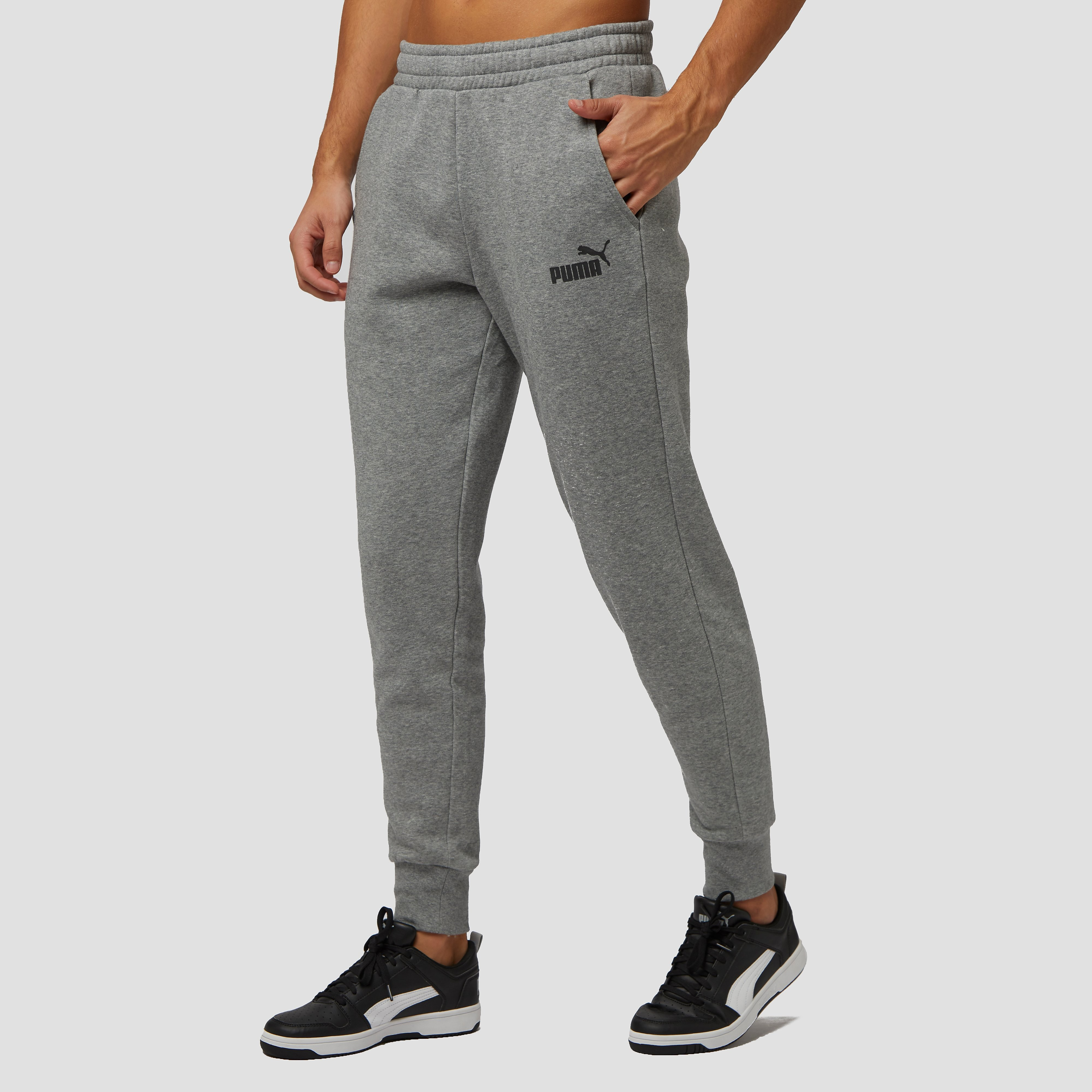 PUMA NO. 1 LOGO JOGGINGBROEK GRIJS HEREN