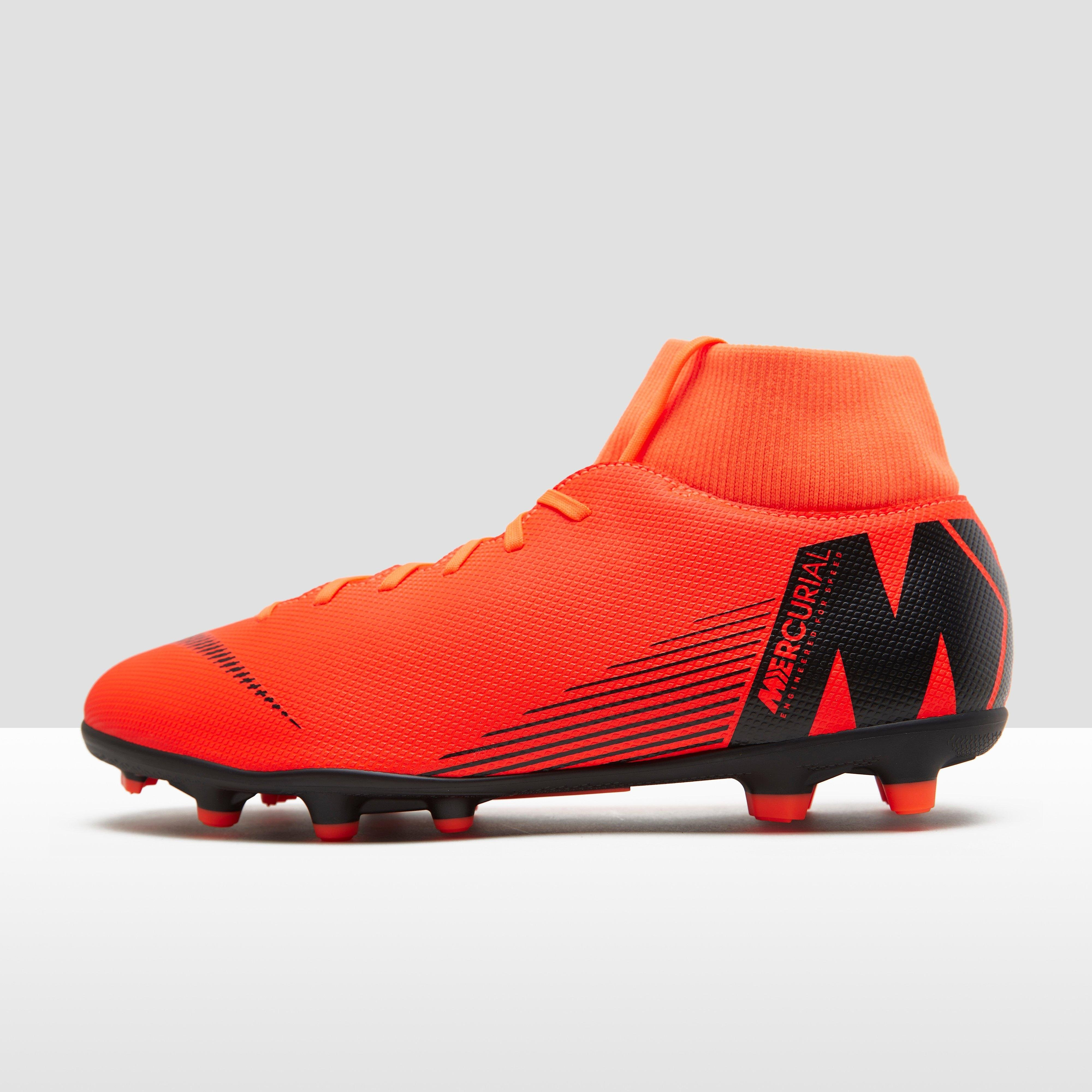 NIKE MERCURIAL SUPERFLY 6 CLUB MG VOETBALSCHOENEN ORANJE HEREN