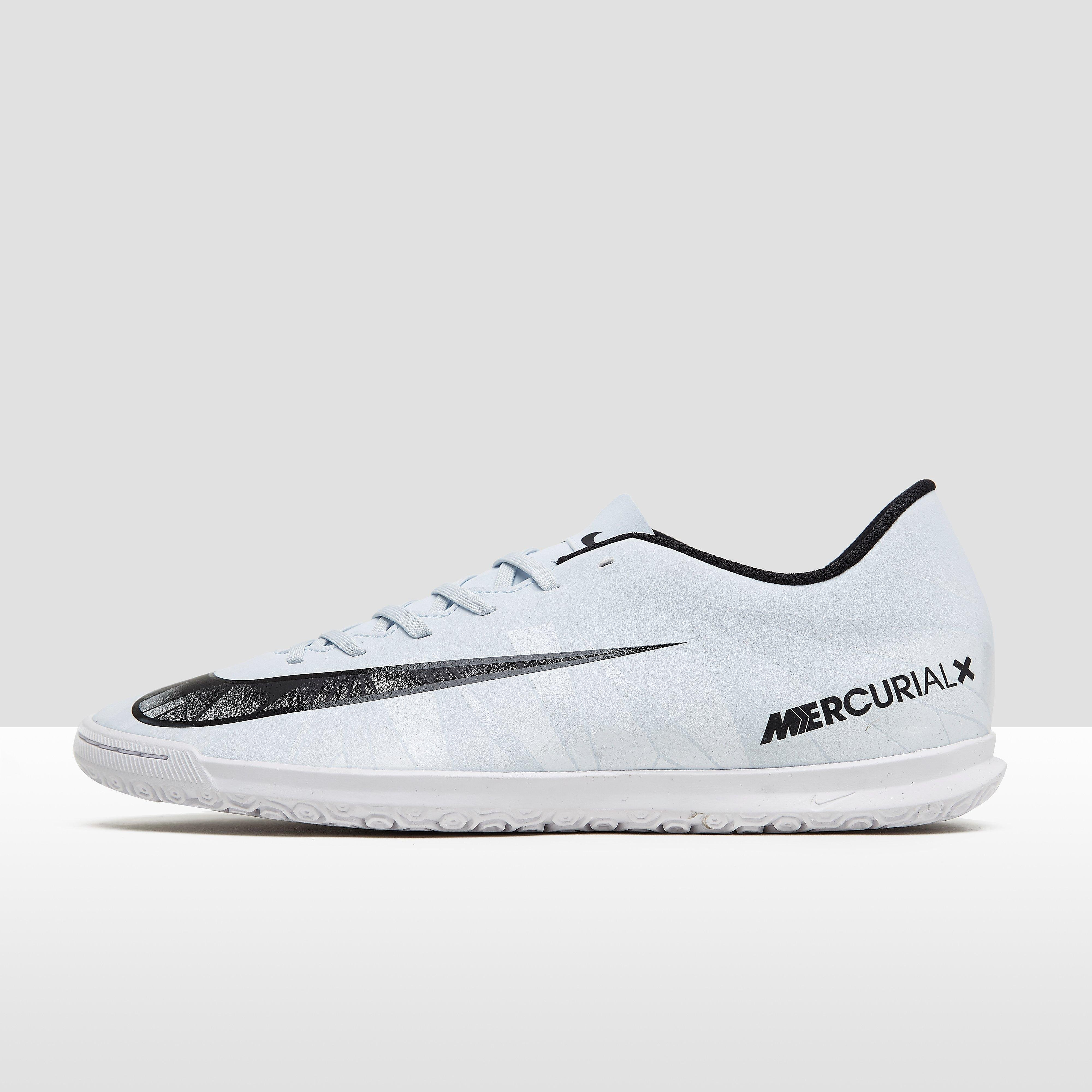 NIKE MERCURIALX VORTEX III CR7 IC VOETBALSCHOENEN WIT HEREN