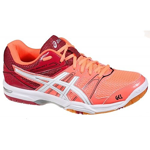 ASICS GEL-ROCKET 7 VOLLEYBALSCHOENEN ROOD DAMES