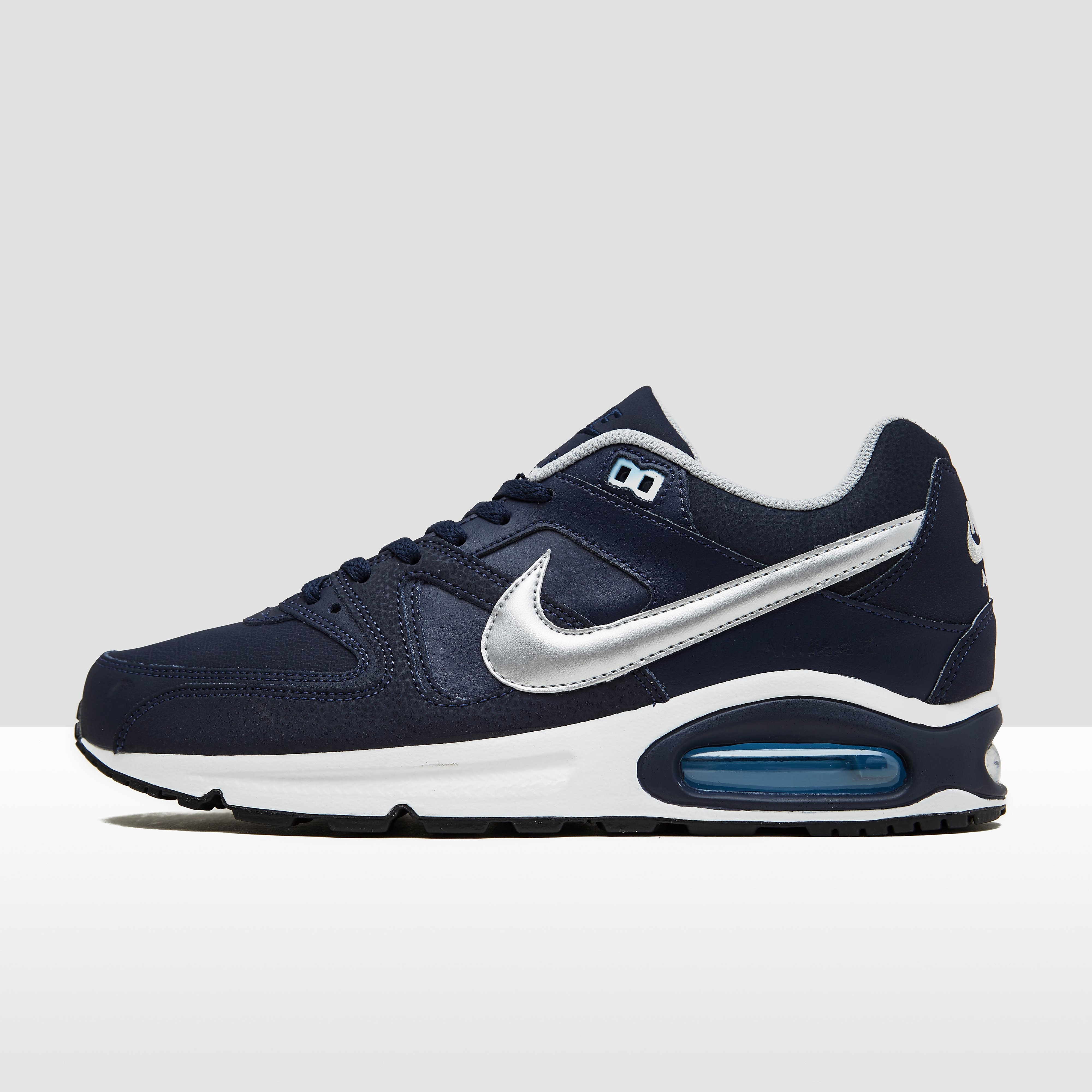 NIKE AIR MAX COMMAND LEATHER SNEAKERS BLAUW HEREN