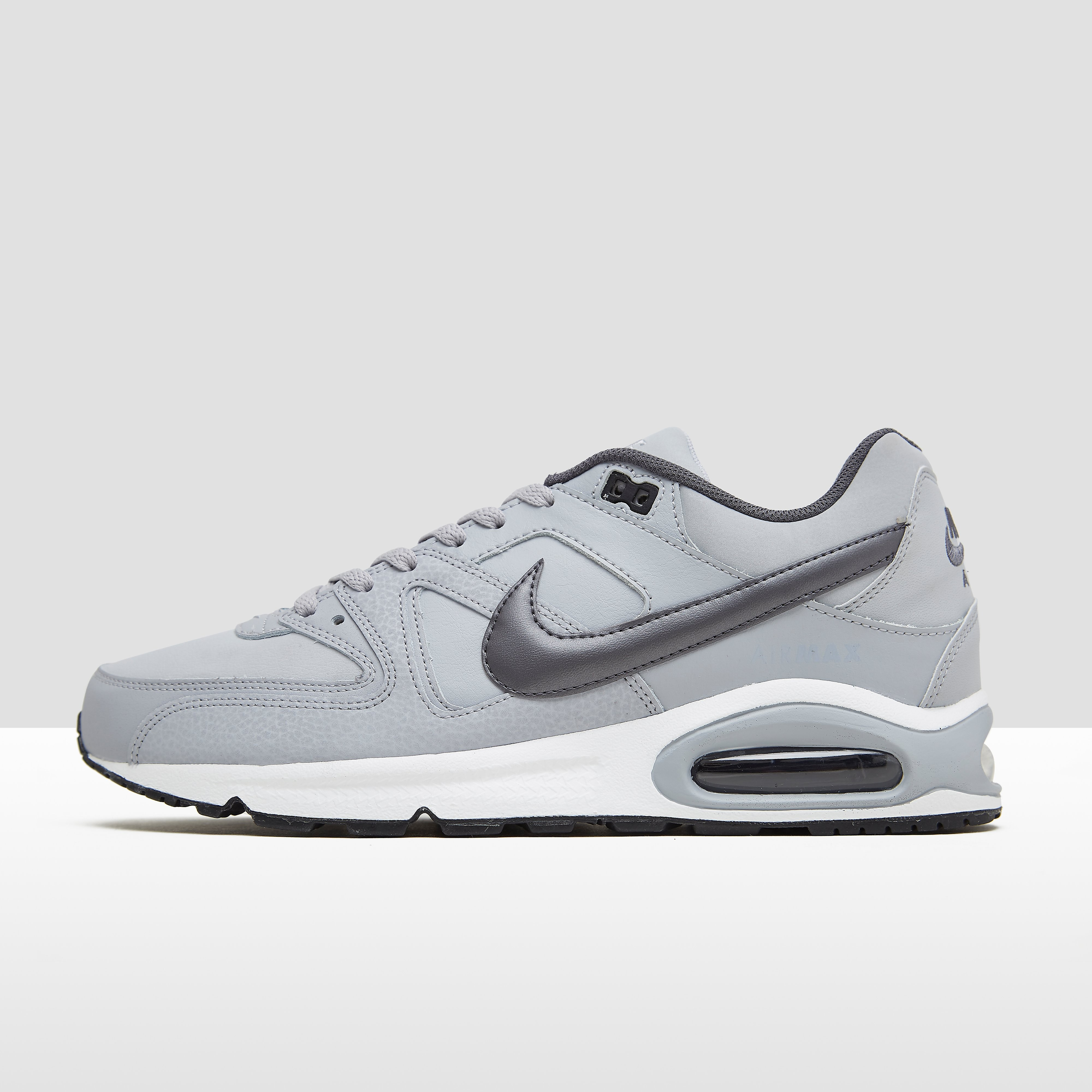 Nike AIR MAX COMMAND LEATHER SNEAKERS GRIJS HEREN