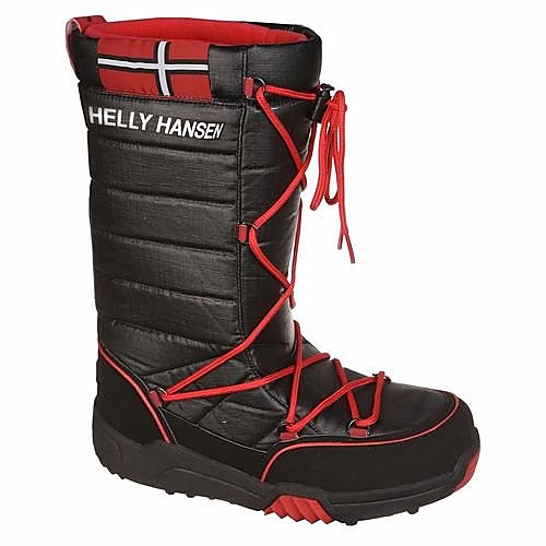 HELLY HANSEN SELJE HIGH SNEAKERS ZWART/ROOD HEREN