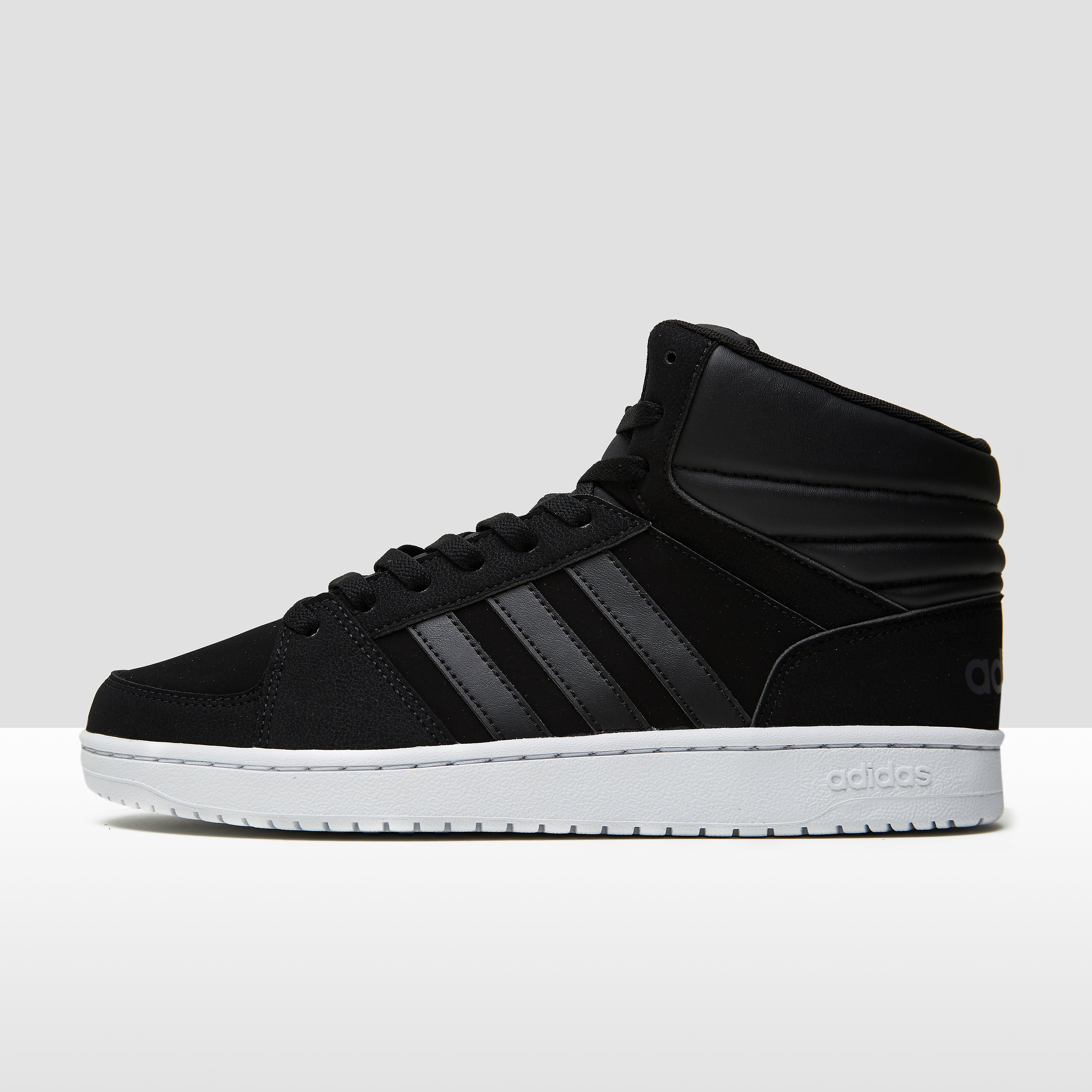 ADIDAS VS HOOPS MID SNEAKERS ZWART/WIT HEREN