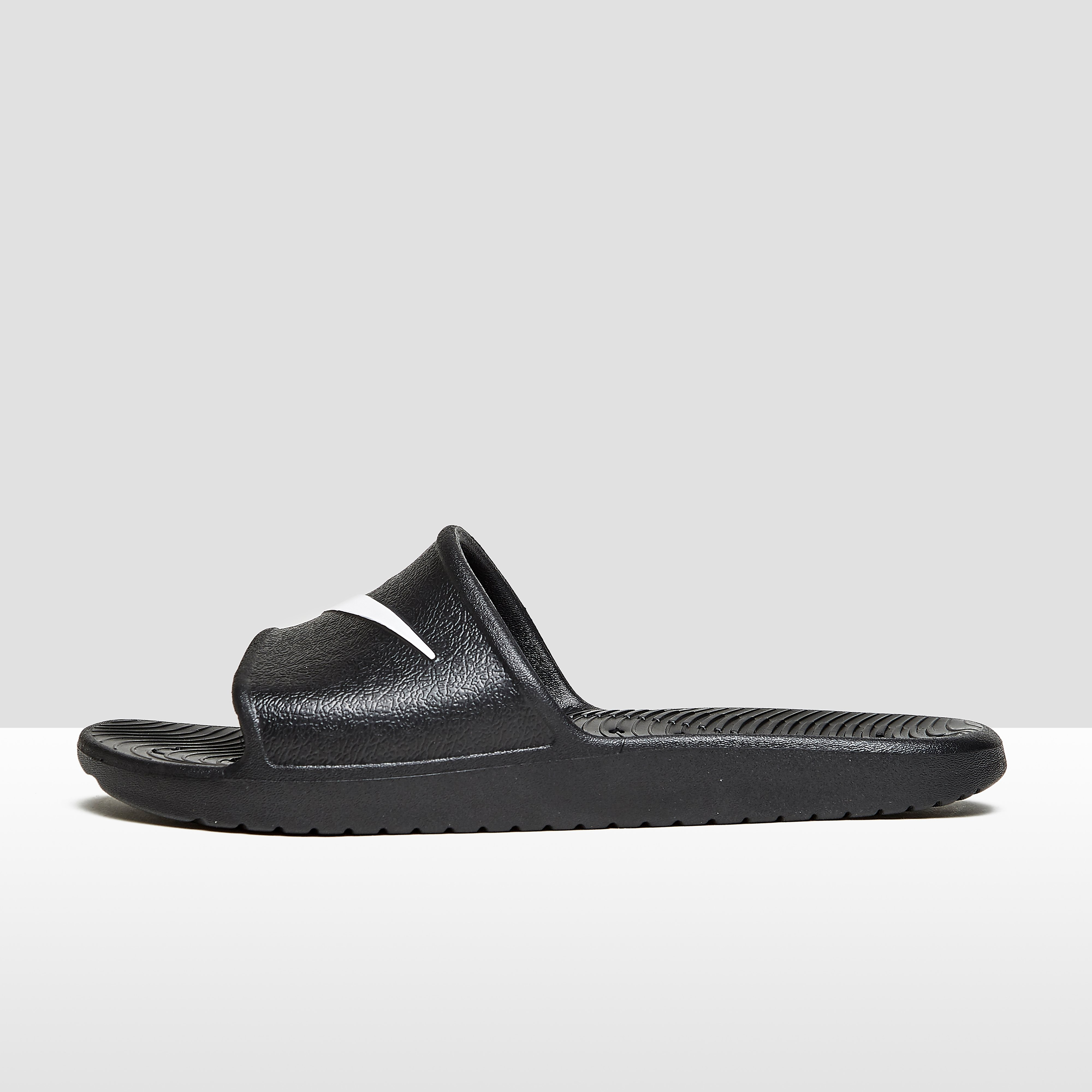 NIKE KAWA SHOWER SLIPPERS ZWART HEREN