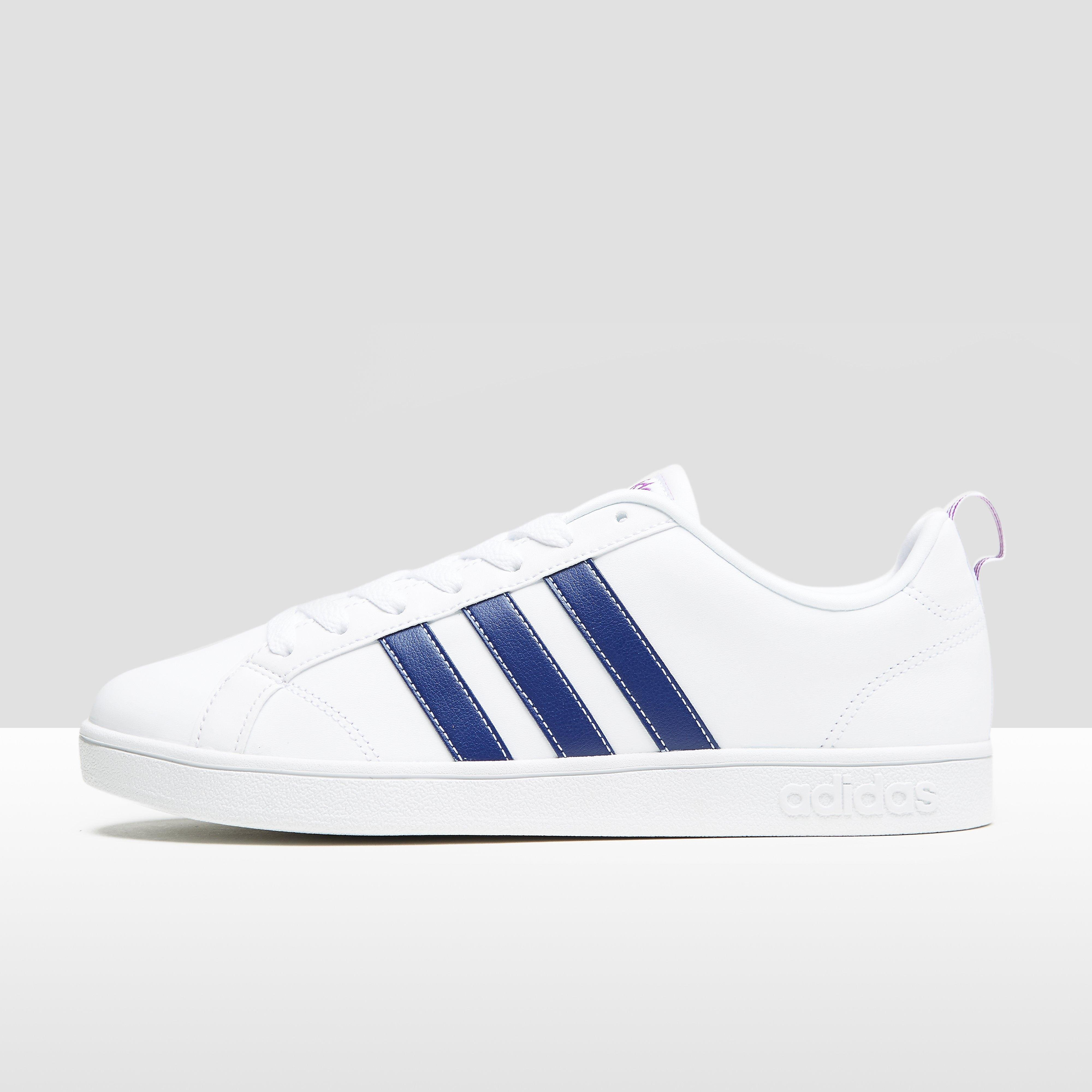ADIDAS VS ADVANTAGE SNEAKERS WIT/BLAUW DAMES