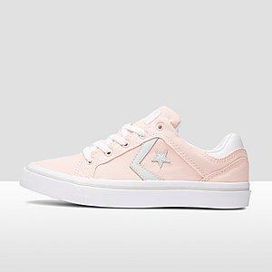 converse el distrito - ox sneakers grijs dames