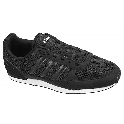 ADIDAS CITY RACER SNEAKERS ZWART DAMES