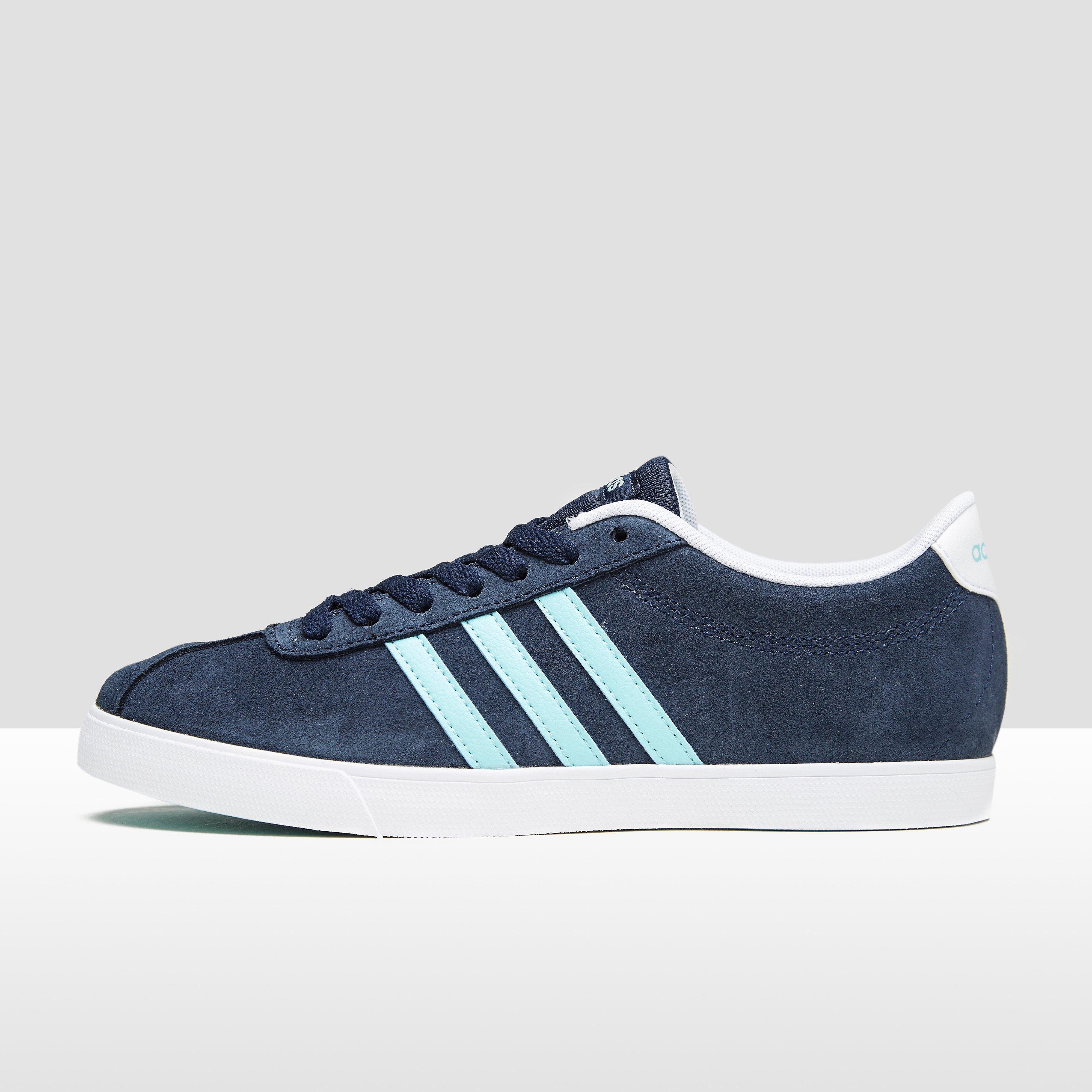 adidas COURTSET SNEAKERS BLAUW DAMES