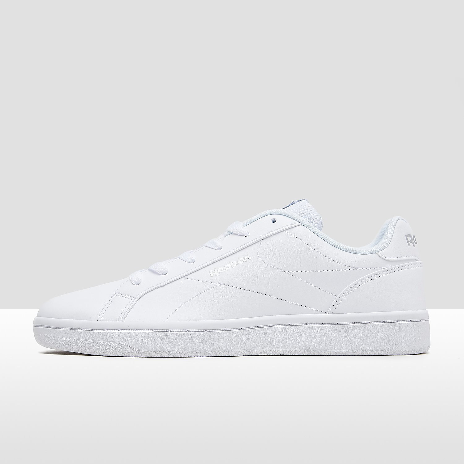 REEBOK ROYAL COMPLETE CLEAN SNEAKERS WIT/ZILVER DAMES